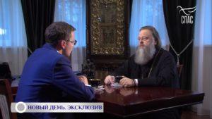Митрополит Меркурий рассказал о событиях 2019 года в интервью телеканалу Спас