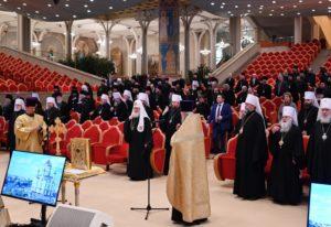 Митрополит Меркурий принял участие в работе пленума Межсоборного присутствия