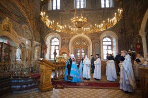 Митрополит Меркурий совершил Литургию в 20-ю годовщину со дня кончины протоиерея Феодора Соколова
