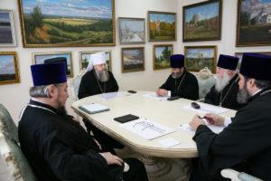 Митрополит Меркурий возглавил заседание Епархиального совета