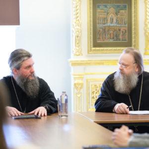 Председатель Синодального отдела религиозного образования и катехизации представил нового заместителя сотрудникам отдела