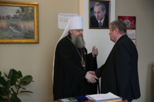 Глава Донской митрополии награжден орденом «За заслуги перед Отечеством» IV степени
