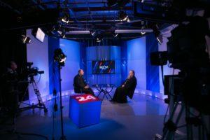 Митрополит Ростовский и Новочеркасский Меркурий выступил в прямом эфире программы «Интервью» на телеканале «Россия 24 Дон»
