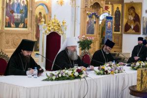 Под председательством митрополита Ростовского и Новочеркасского Меркурия состоялось годовое Епархиальное собрание