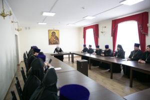 Под председательством митрополита Ростовского и Новочеркасского Меркурия состоялось расширенное совещание архипастырей и благочинных округов Донской митрополии