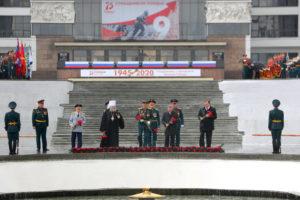 Митрополит Ростовский и Новочеркасский Меркурий принял участие в торжествах по случаю 75-летия Великой Победы