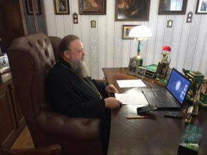 Состоялась онлайн-конференция митрополита Меркурия со студентами Донской духовной семинарии