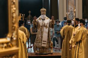 В день памяти святого пророка Илии Глава Донской митрополии совершил Божественную литургию в Ростовском кафедральном соборе