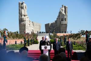 Глава Донской митрополии принял участие в торжествах в честь открытия Народного военно-исторического музейного комплекса «Самбекские высоты»