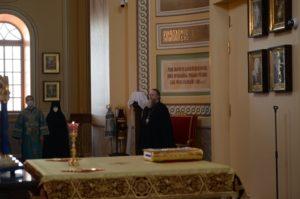 В канун праздника Рождества Пресвятой Богородицы митрополит Меркурий совершил всенощное бдение в Ростовском кафедральном соборе